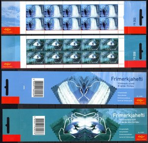 Iceland Sc# 937a-938a MNH Set/2 Complete Booklet 2001 Europa