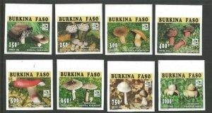 1995 Burkina Faso Boy Scouts World Jamboree Holland mushroom Imperf