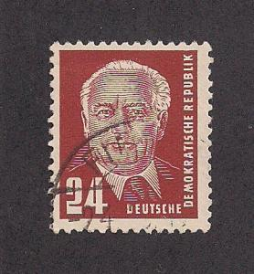 GERMANY - DDR SC# 115 F-VF MNH 1952