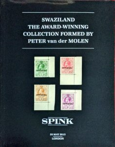 Auction Catalogue SWAZILAND - The Peter van der Molen Collection