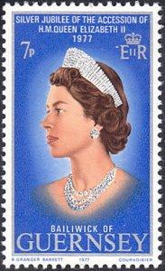 Guernsey # 145 mnh ~ 7p Queen Elizabeth II