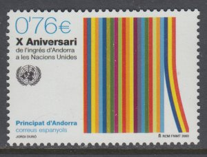 Andorra Spanish 292 MNH VF