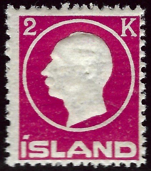 Iceland SC#97 MNH F-VF SCV$30.00..Fill a Key Spot!!