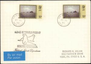 South Georgia #6, Antarctic Cachet and/or Cancel