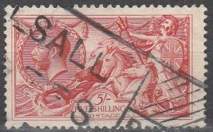 Great Britain #180  F-VF Used  CV $125.00 (S6251)