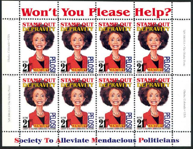 Political Parody Collectible Mini Sheet New MNH - Cinderella