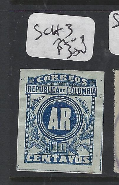 COLOMBIA     (PP2001B)  A   REGISTER SC H 3   MOG