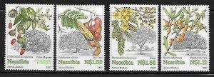Namibia 849-52 Fruits Mint NH