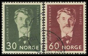 Norway 494-495 Used  VF