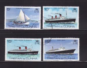 Tristan Da Cunha 255-258 Set U Ships