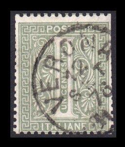 ITALY STAMP 1863 - 77. SCOTT # 24. USED. ITEM 1