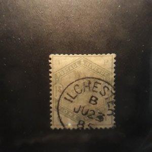 GB 107 1 shilling green