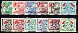 Paraguay #508-19  MNH  CV $3.00 (X238)
