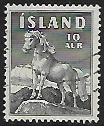 Iceland # 311 - Icelandic Poney - used....{GBl)