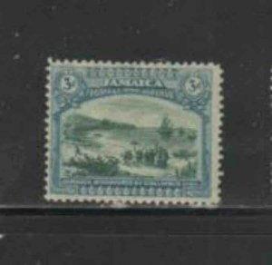 JAMAICA #80 1921 3p COLUMBUS LANDING AT JAMAICA MINT VF NH O.G aa