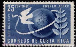 Costa Rica Scott C187 used airmail