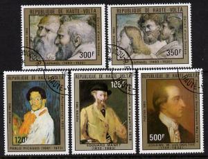 Upper Volta 1983 Celebrities\' Anniversaries perf set of ...