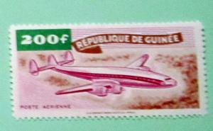 Guinea - C15, MNH. Plane. SCV - $2.75