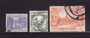 Burma 142, 144, 146 U Bell, Mythical Bird, Royal Palace (B)