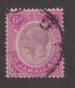 Jamaica 67 King George V 1912