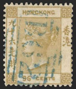 Hong Kong Scott 23 Gibbons 18 Used Stamp