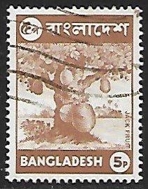 Bangladesh # 44 - Jack Fruit - used....{BRN1}
