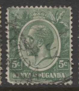 STAMP STATION PERTH KUT #20 KGV Definitive Used