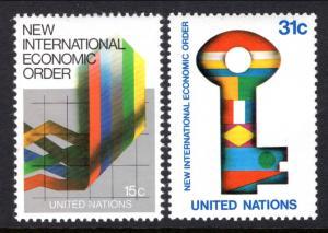 New York 316-317 MNH VF