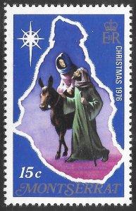 [21925] Montserrat Mint Never Hinged