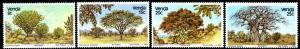 Venda - 1982 Indigenous Trees Set MNH** SG 63-66