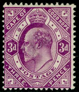 SOUTH AFRICA - Cape of Good Hope SG74, 3d Magenta,UNMOUNTED MINT.Cat £18.