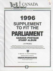 1996 Parliment Supplement ($17.35)