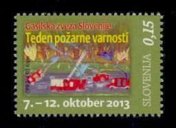 Slovenia Sc# RA53 MNH Fire Prevention Week (Postal Tax)