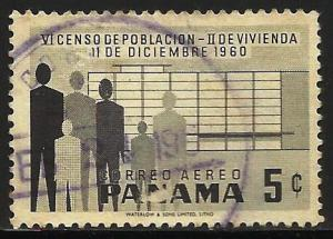 Panama Air Mail 1960 Scott# C238 Used