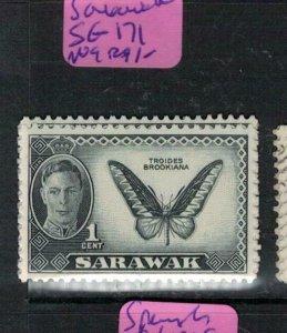 Sarawak Butterfly SG 171 MOG (8ere)