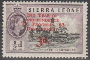 Sierra Leone #242  MNH F-VF  (SU160)