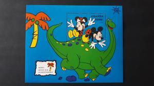 Disney - Uganda 1993. ** MNH Block