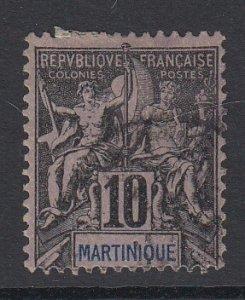 MARTINIQUE, Scott 38, used
