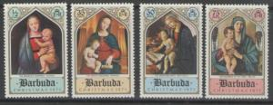 BARBUDA SG98/101 1971 CHRISTMAS MNH
