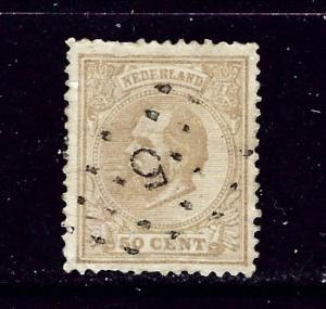 Netherlands 31 Used 1872 issue