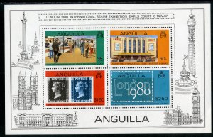 RK14751 ANGUILLA 374a MNH SS BIN $1.25 STAMP EXPO