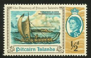 Pitcairn Islands 1967 Scott# 67 MNH