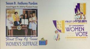 AFDCS 5523 Women's Suffrage Donald Trump Pardons Susan Anthony Sececa Falls DCP