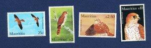MAURITIUS - Scott 583-586 - FVF MNH - BIRDS - 1984
