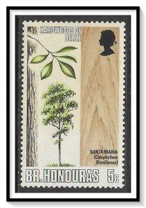 British Honduras #259 Hardwood Trees MH