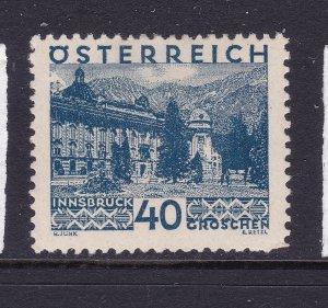 Austria a MH 40gr from the 1929 Views set