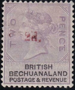 Bechuanaland 1888 SC 25b Mint On Pale Dull Lilac