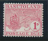 Basutoland  Postage Due  SG D3  space filler Mint Hinged see details
