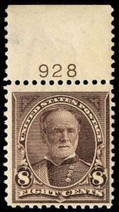 momen: US Stamps #272 Mint OG NH F/VF