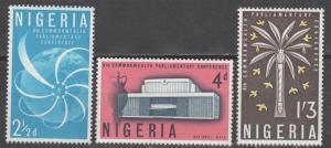 Nigeria #138-40 MNH F-VF  (SU80)